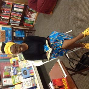 Auma's Long Run author Eucabeth Odhiambo