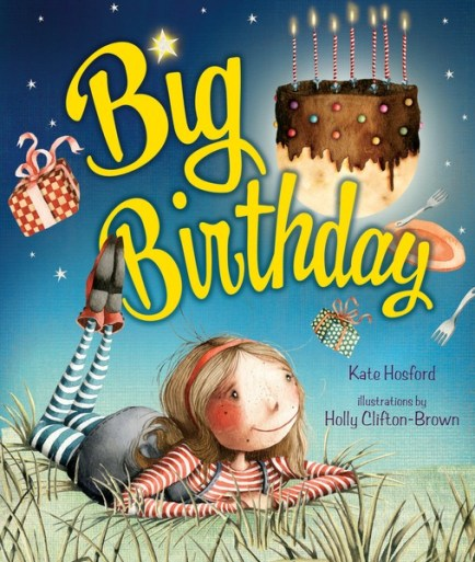 Big Birthday book for National Reading Day 2018
