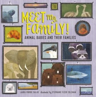 Meet My Family by Laura Purdie Salas