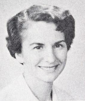Halftone image of Marguerite Rush Lerner, M.D. Ca: 1959