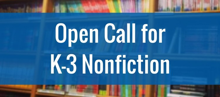 K-3 nonfiction submissions