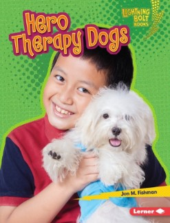 pet books for kids: Hero Therapy Dogs