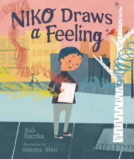 Niko Draws a Feeling cover - quiet books for kids