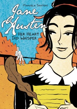 cover of graphic novel Jane Austen by Manuela Santoni