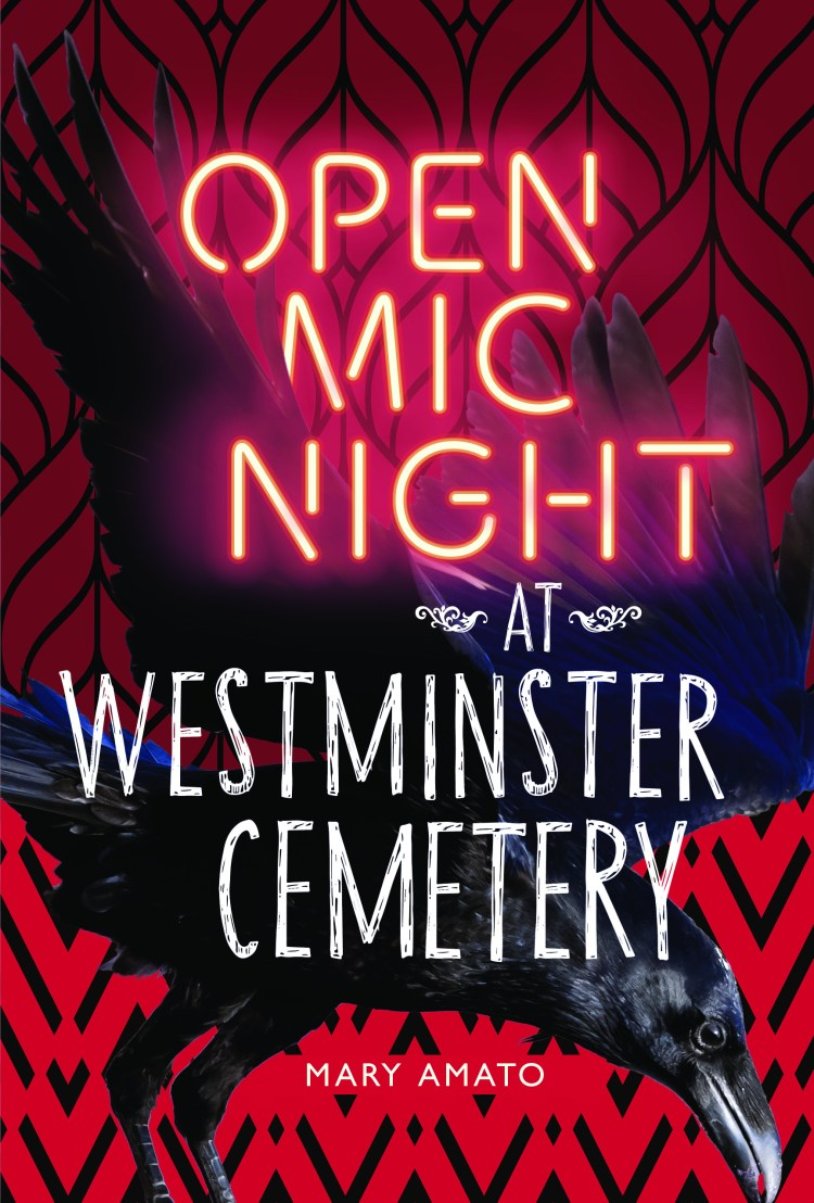 Open Mic Night at Westminster Cemetery Cover Design