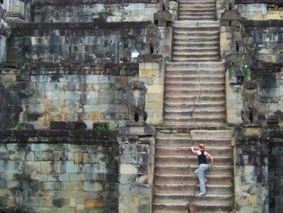 Rebecca Caprara in Cambodia photo