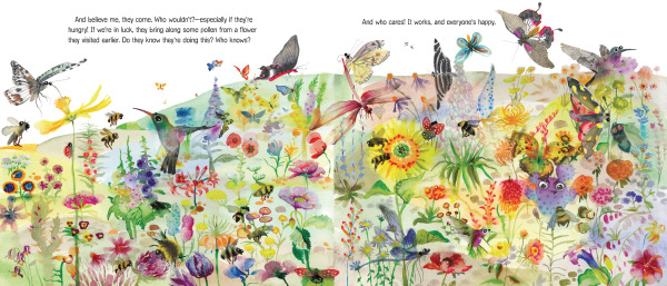 Spread from Flower Talk