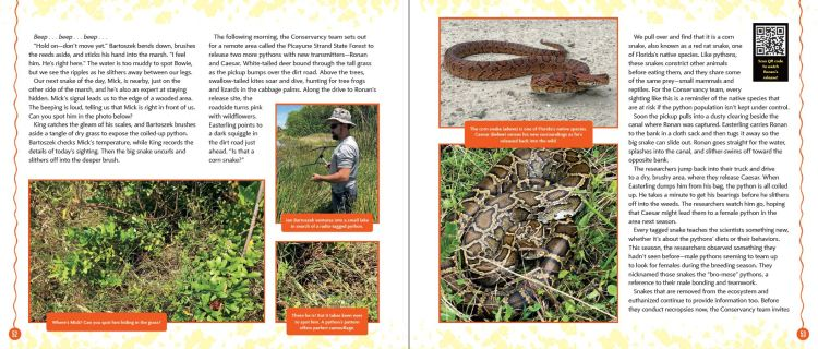 Tracking Pythons p.52