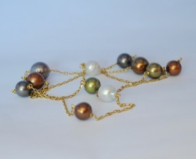 Chanel-inspired Necklace with Southsea Pearls