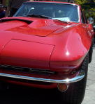 A 1966 (I believe) Corvette.
