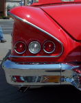 A Chevy Impala from the back.