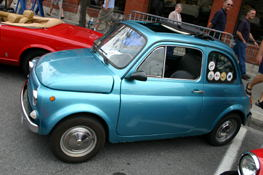 A 1975 Fiat 500. (Thanks Stephen!)