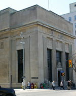 The Bank of Montreal building on Wellington.  I don't actually  like this building - it is somewhat bland in appearance.