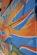 Graffiti in a narrow alley off Rideau Street.