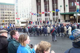 Veterans on the march