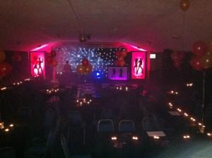 Leroy Lurve's amazing stage set