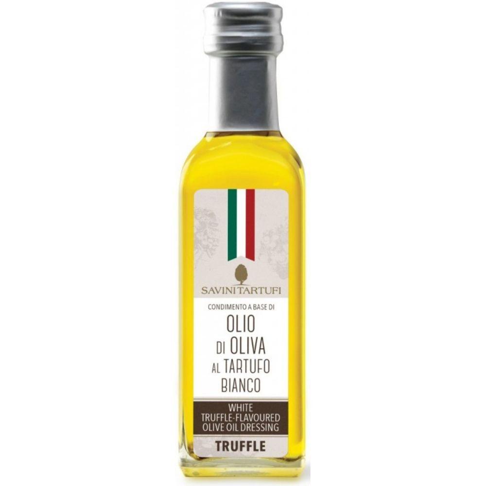 huile d olive extra vierge a la truffe blanche 55ml savini tartufi