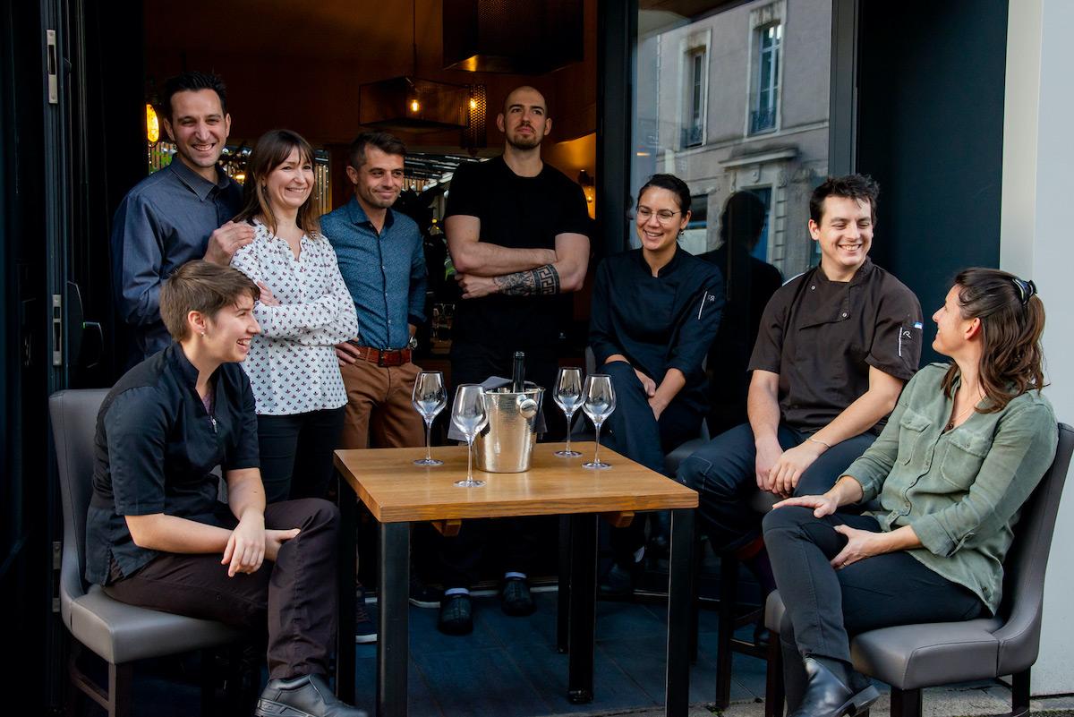 Les équipes de l'U.NI Nantes - Photo Paul Stefanaggi