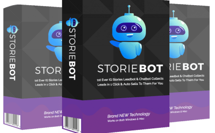 StorieBot (Instagram Stories) Cover