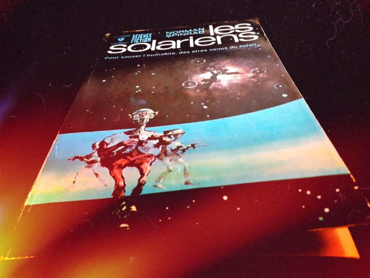 Les Solariens - Norman Spinrad - space opera - les-carnets-dystopiques.fr