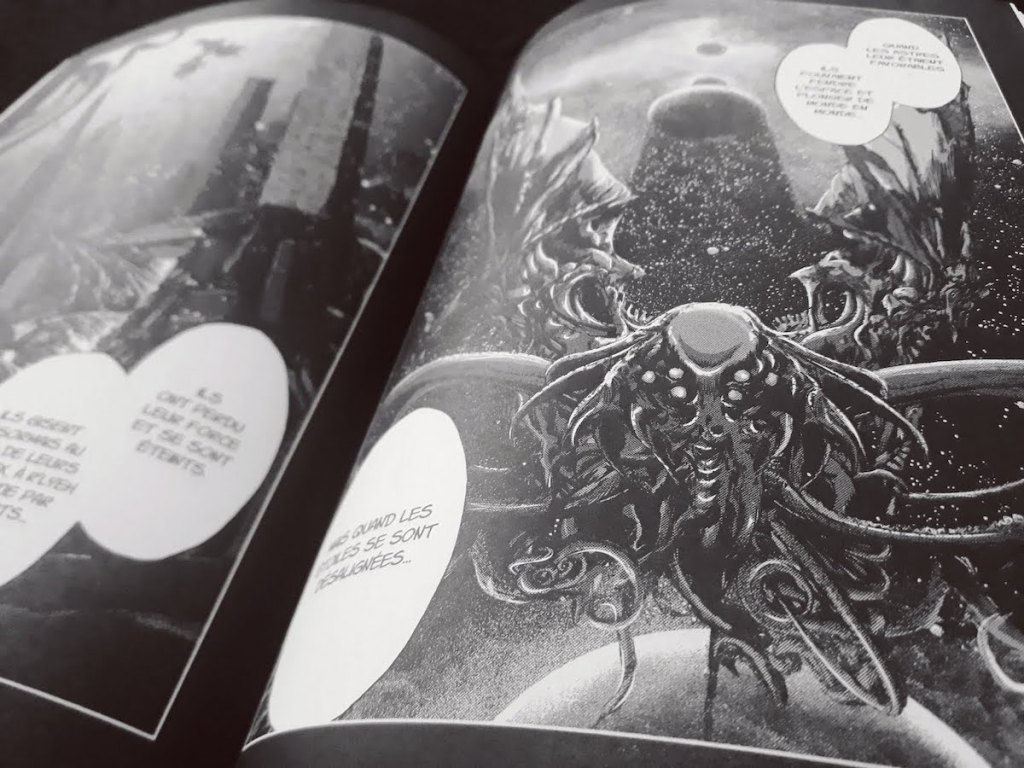 Cthulhu - Outer space - Gou Tanabe - les-carnets-dystopiques.fr