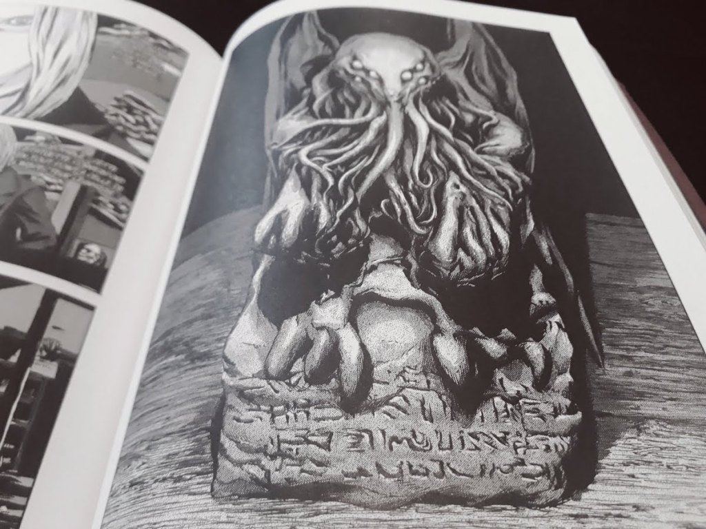 Statuette Cthulhu - Gou Tanabe - les-carnets-dystopiques.fr