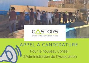 Appel candidature administrateurs Castors