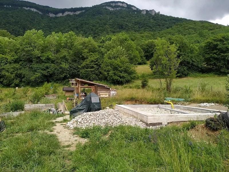 Chantier participatif construction paille/GREB