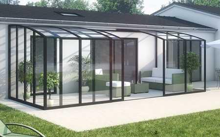 l abri de terrasse pour un espace ferme