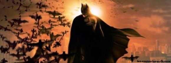 Batman-Darknight-Photo de couverture journal Facebook