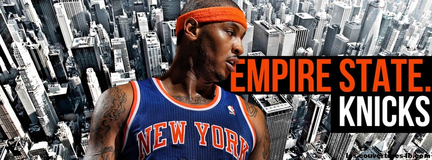 N.Y.Knicks-photo de couverture journal Facebook