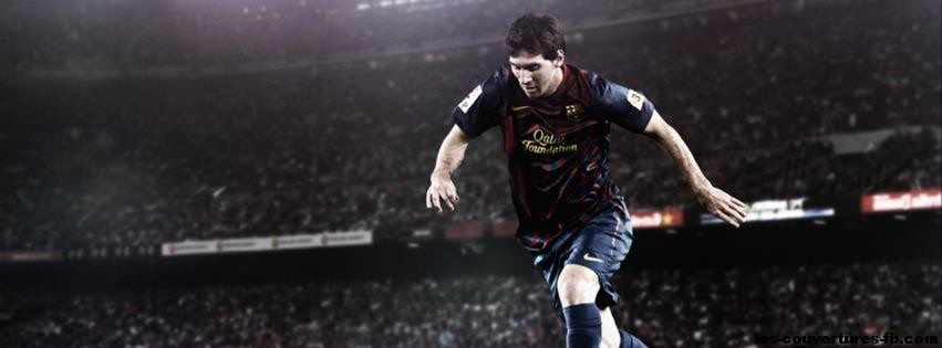 Leo messi-photo de couverture journal Facebook