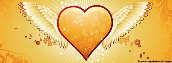 fetes-saint-valentin-coeurs-dore-photo-de-couverture-journal-facebook