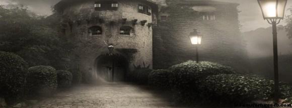 maison hantée - Photo de couverture journal Facebook