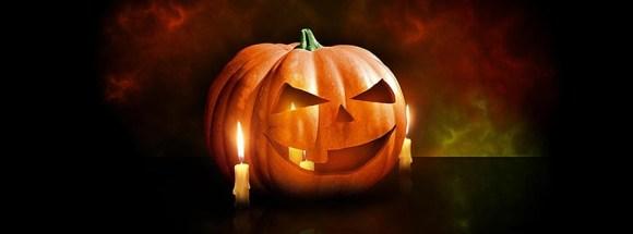 photo-de-couverture-journal-facebook-halloween-citrouille entouree de bougies