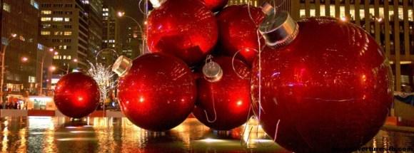 Boules de Noël -photo de couverture journal facebook