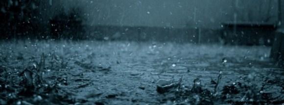 Pluie-photo de couverture journal facebook