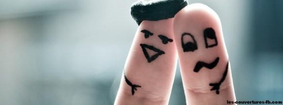 doigts souls - Photo de couverture journal Facebook