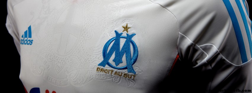 Maillot de l'OM 2013- Photo de couverture journal Facebook