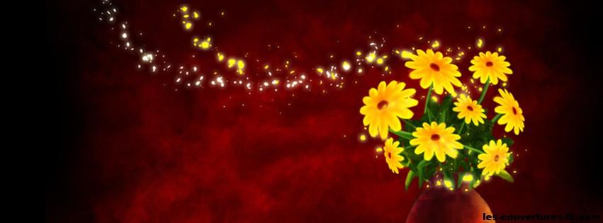 Poussiere De Fleurs Photo De Couverture Facebook