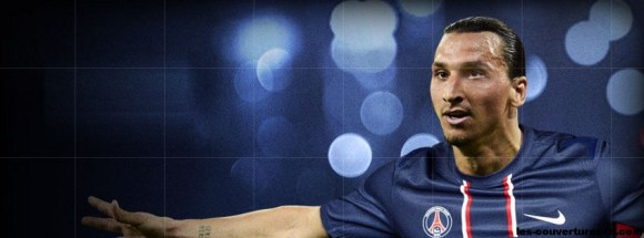 zlatan ibrahimovic au PSG -Photo de couverture journal Facebook