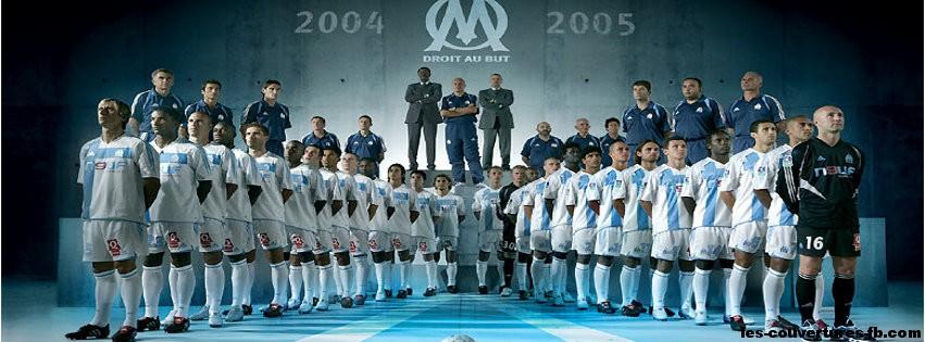 OM 2004-2005-Photo de couverture journal Facebook