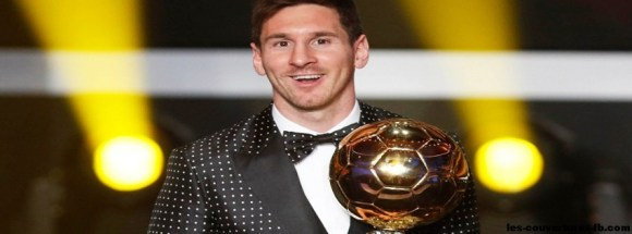 messi ballon d'or -Photo de couverture journal Facebook