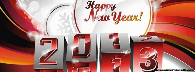 nouvelle année 2013 - Photo de couverture journal Facebook