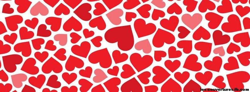 Tapis De Coeurs Rouges Photo De Couverture Facebook