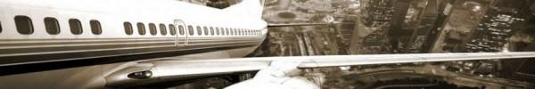 gros plan du décollage-Photo de couverture journal Facebook