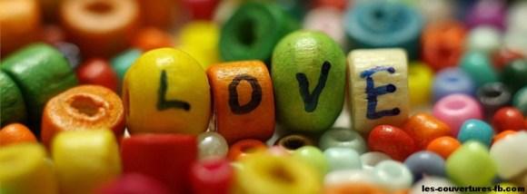 love en couleur - photo de couverture journal facebook