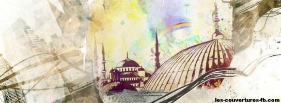 mosquée istanbul-Photo de couverture journal Facebook