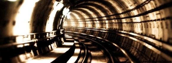 Au bout du tunnel-Photo de couverture journal Facebook