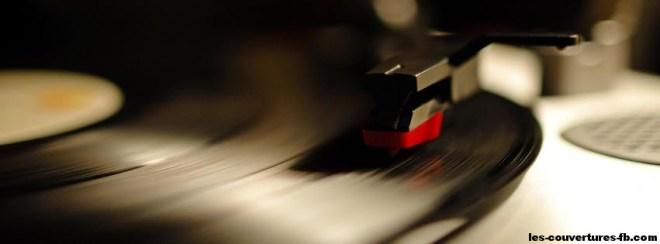 Vinyl -Photo de couverture journal Facebook